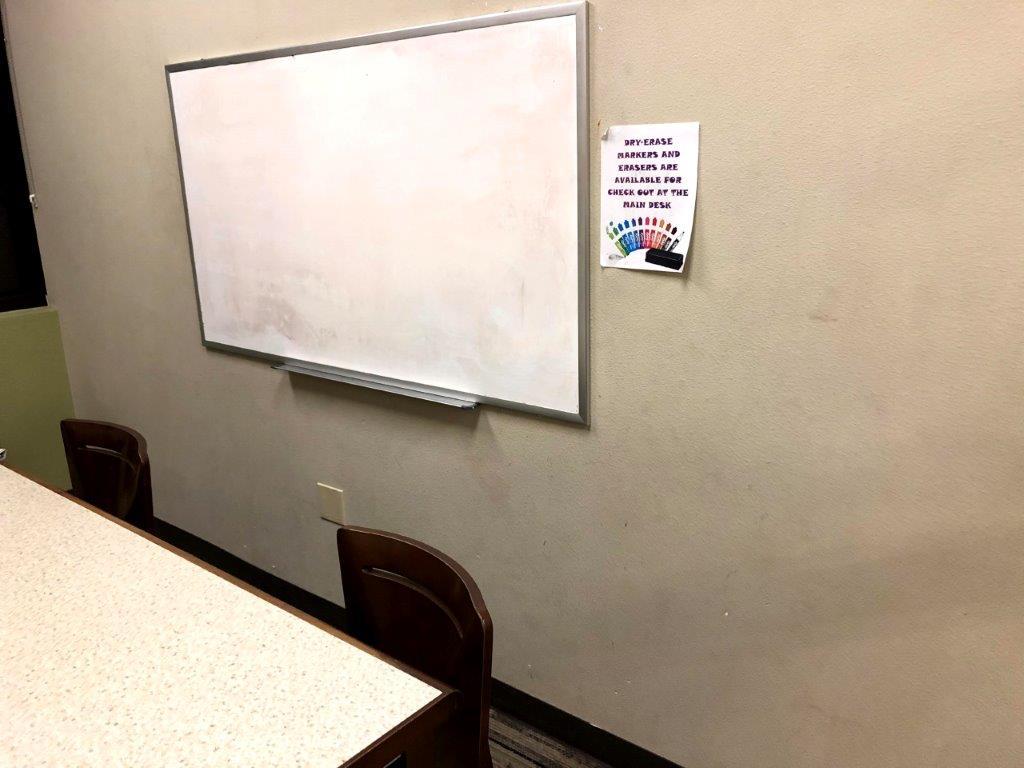study room wall